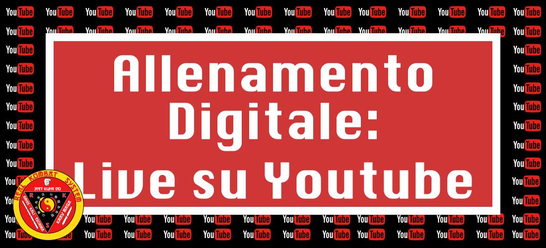 Live su youtube
